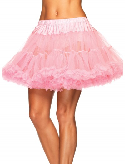 Plus Pink Layered Tulle Petticoat, halloween costume (Plus Pink Layered Tulle Petticoat)