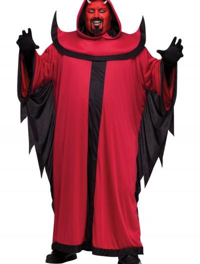 Plus Prince of Darkness Devil Costume, halloween costume (Plus Prince of Darkness Devil Costume)