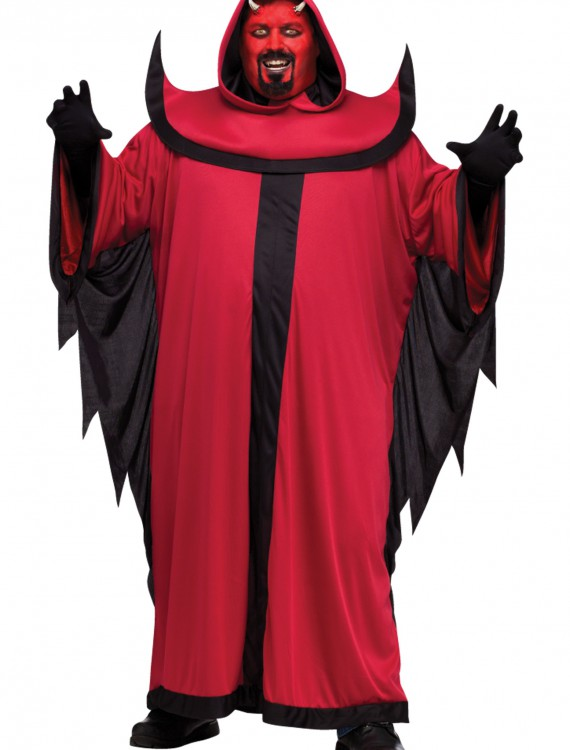 Plus Prince of Darkness Devil Costume, halloween costume (Plus Prince of Darkness Devil Costume)