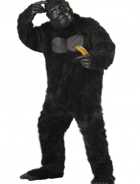 Plus Size Realistic Gorilla Suit, halloween costume (Plus Size Realistic Gorilla Suit)
