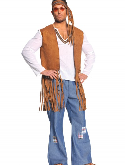Plus Right On Hippie Costume, halloween costume (Plus Right On Hippie Costume)