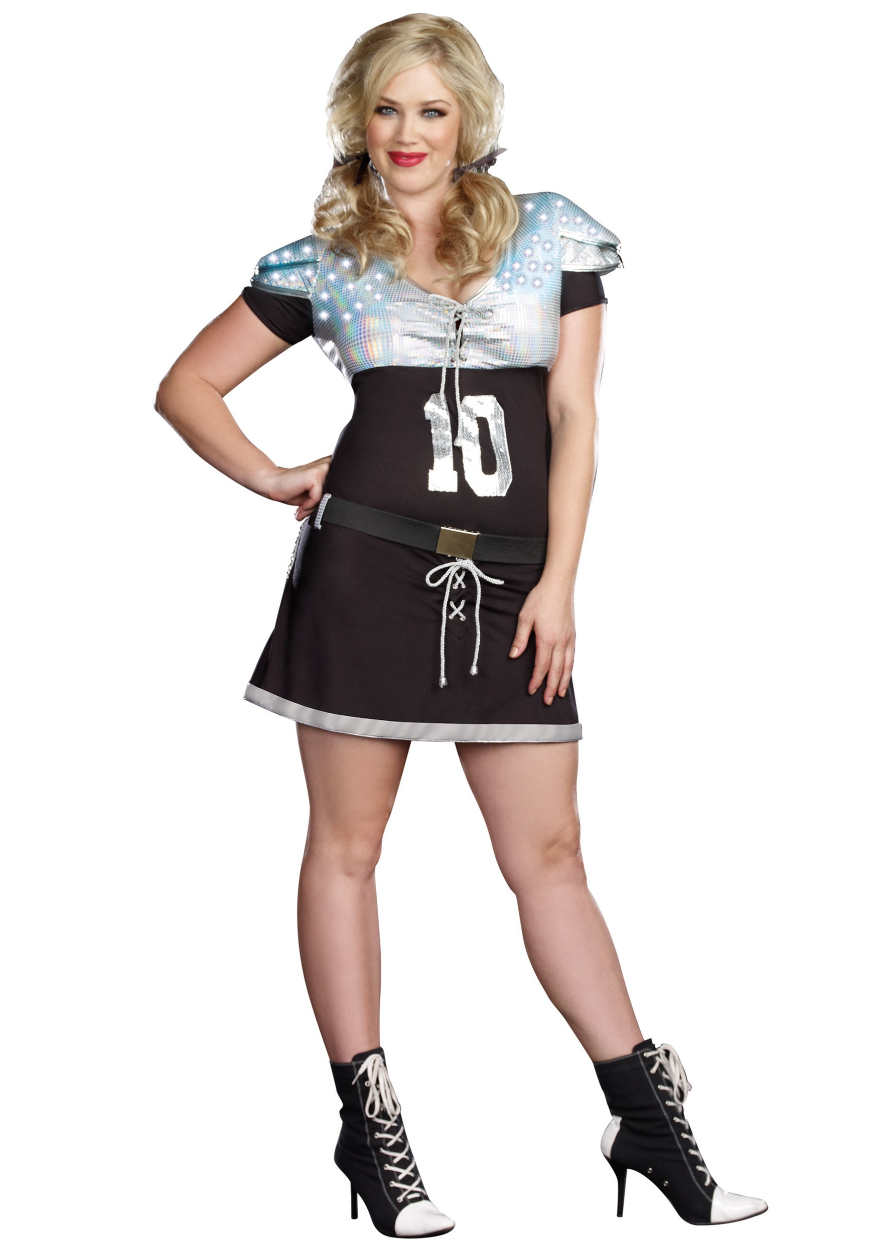 size costumes Plus sexy football