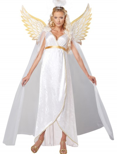 Plus Size Adult Guardian Angel Costume, halloween costume (Plus Size Adult Guardian Angel Costume)