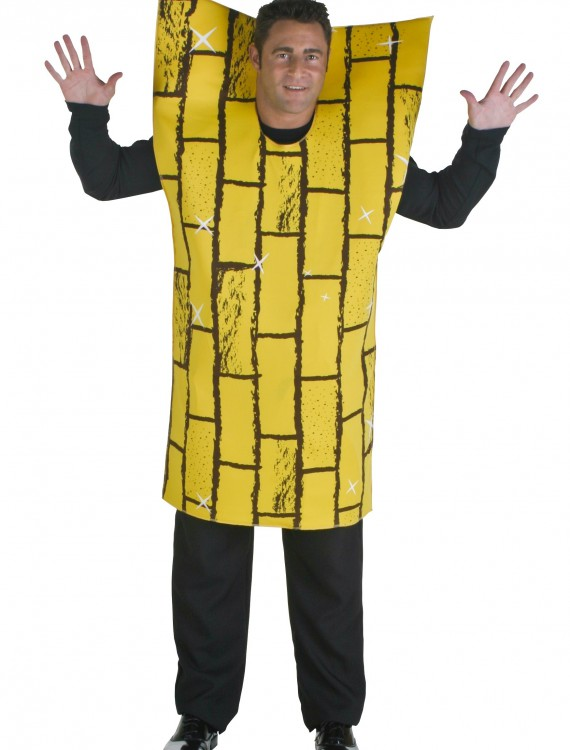 Plus Size Adult Yellow Brick Road, halloween costume (Plus Size Adult Yellow Brick Road)