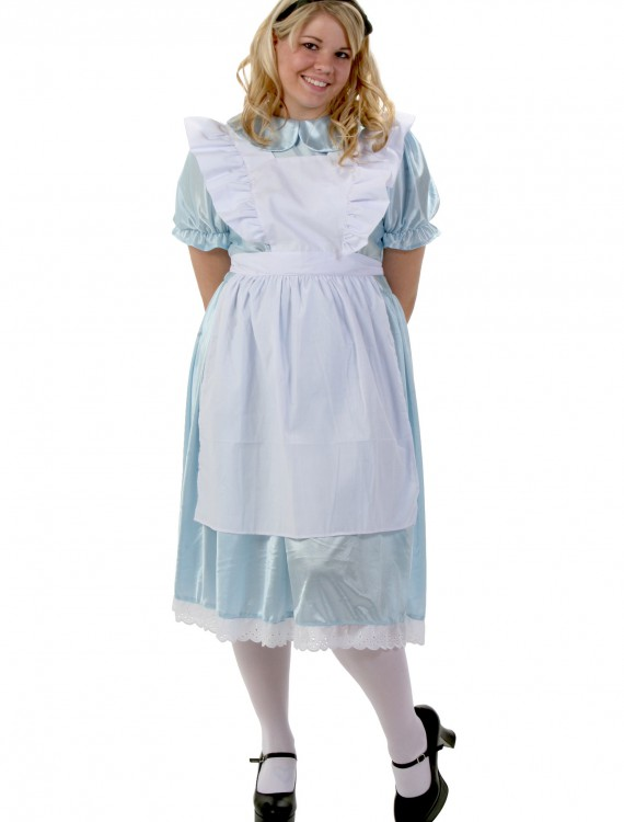 Plus Size Alice Costume, halloween costume (Plus Size Alice Costume)