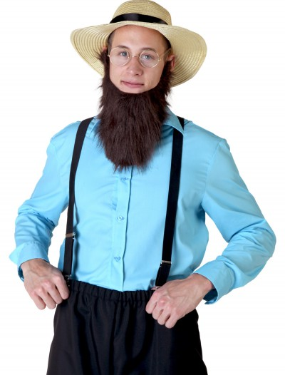 Plus Size Amish Man Costume, halloween costume (Plus Size Amish Man Costume)