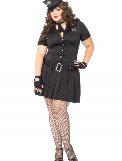 Plus Size Arresting Officer Costume, halloween costume (Plus Size Arresting Officer Costume)