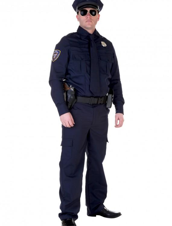 Plus Size Authentic Cop Costume, halloween costume (Plus Size Authentic Cop Costume)