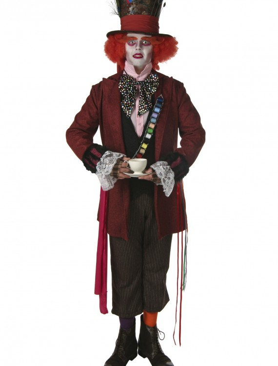 Plus Size Authentic Mad Hatter Costume, halloween costume (Plus Size Authentic Mad Hatter Costume)
