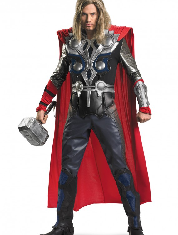 Plus Size Avengers Replica Thor Costume, halloween costume (Plus Size Avengers Replica Thor Costume)