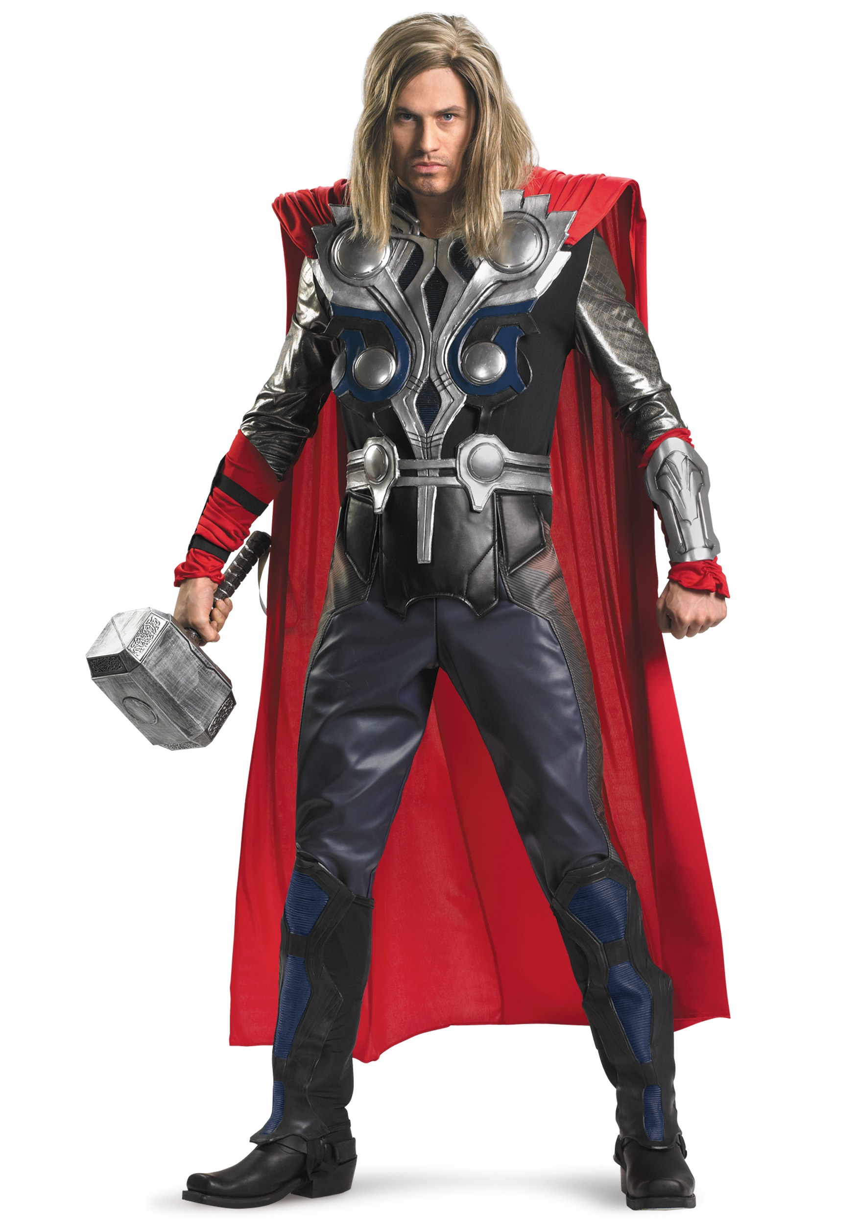 Plus Size Avengers Replica Thor Costume  sc 1 st  Halloween Costumes & Plus Size Avengers Replica Thor Costume - Halloween Costumes