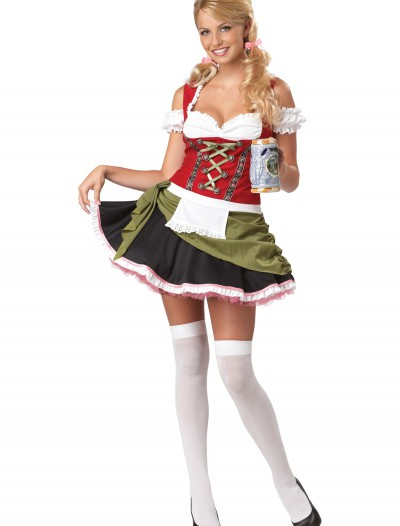 Plus Size Bar Maid Costume, halloween costume (Plus Size Bar Maid Costume)