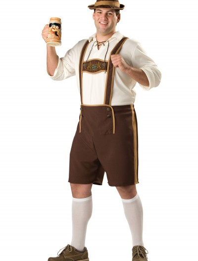 Plus Size Bavarian Guy Costume, halloween costume (Plus Size Bavarian Guy Costume)