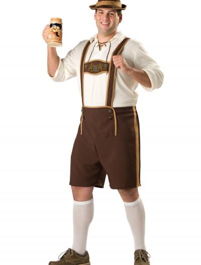 Plus Size Bavarian Guy Costume, halloween costume (Plus Size Bavarian Guy Costume)