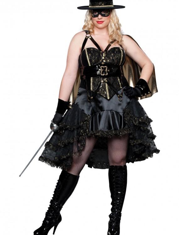 Plus Size Beautiful Bandida Costume, halloween costume (Plus Size Beautiful Bandida Costume)