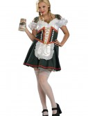 Plus Size Beer Garden Girl Costume, halloween costume (Plus Size Beer Garden Girl Costume)