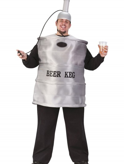 Plus Size Beer Keg Costume, halloween costume (Plus Size Beer Keg Costume)