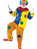 Plus Size Big Top Clown Costume, halloween costume (Plus Size Big Top Clown Costume)