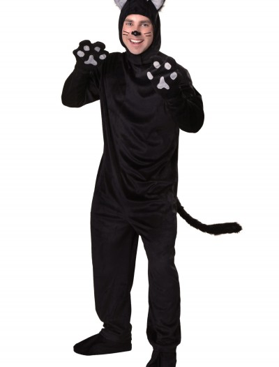 Plus Size Black Cat Costume, halloween costume (Plus Size Black Cat Costume)