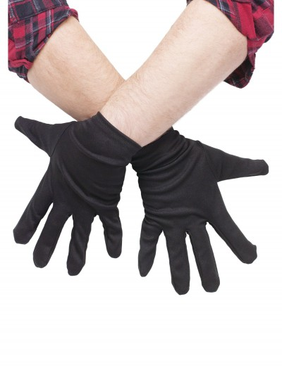 Plus Size Black Gloves, halloween costume (Plus Size Black Gloves)