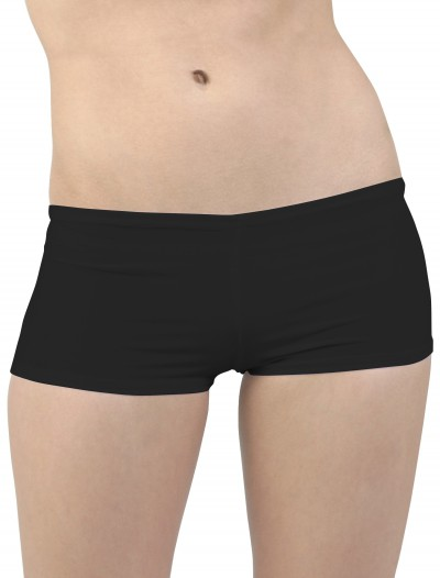Plus Size Black Hot Pants, halloween costume (Plus Size Black Hot Pants)