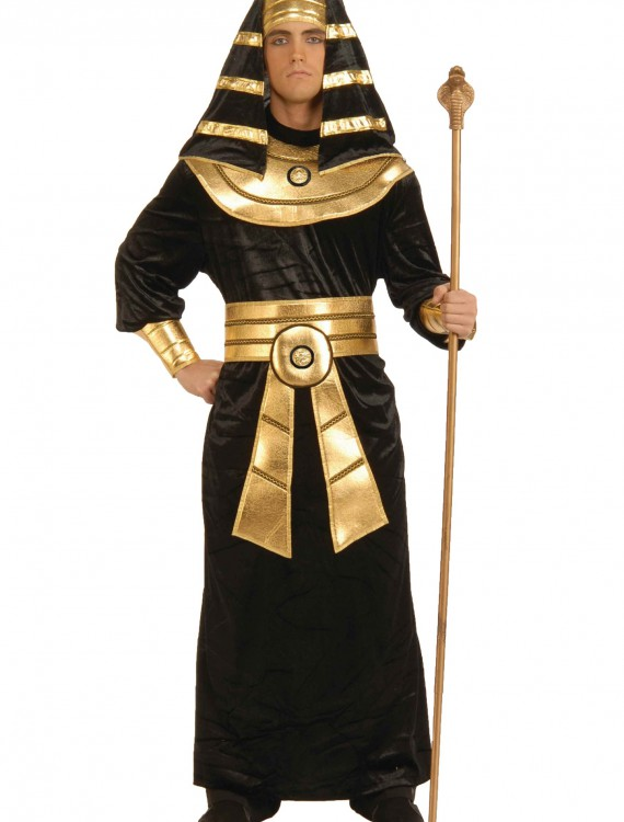 Plus Size Black Pharaoh Costume, halloween costume (Plus Size Black Pharaoh Costume)