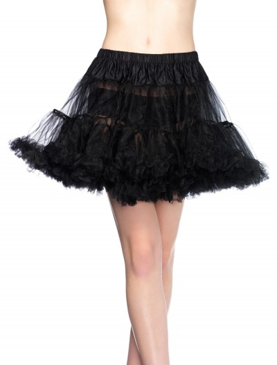 Plus Size Black Tulle Petticoat, halloween costume (Plus Size Black Tulle Petticoat)