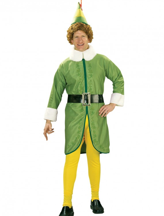 Plus Size Buddy the Elf Costume, halloween costume (Plus Size Buddy the Elf Costume)