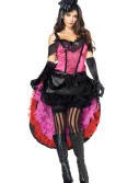 Plus Size Can Can Girl Costume, halloween costume (Plus Size Can Can Girl Costume)