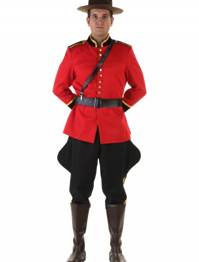 Plus Size Canadian Mountie Costume, halloween costume (Plus Size Canadian Mountie Costume)