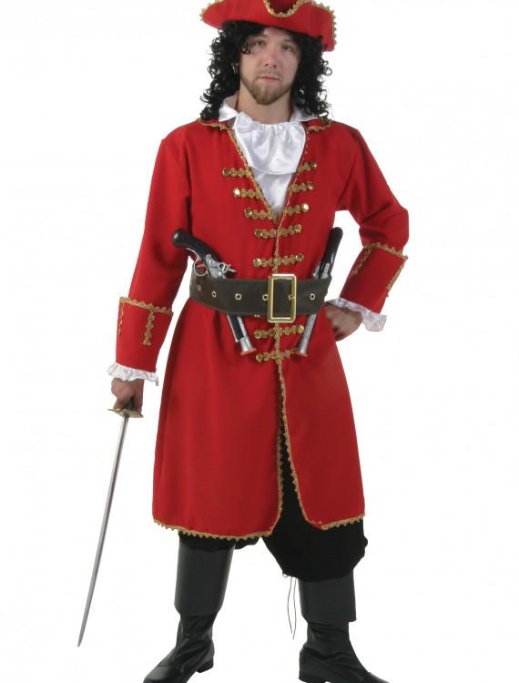 Plus Size Captain Blackheart Costume, halloween costume (Plus Size Captain Blackheart Costume)