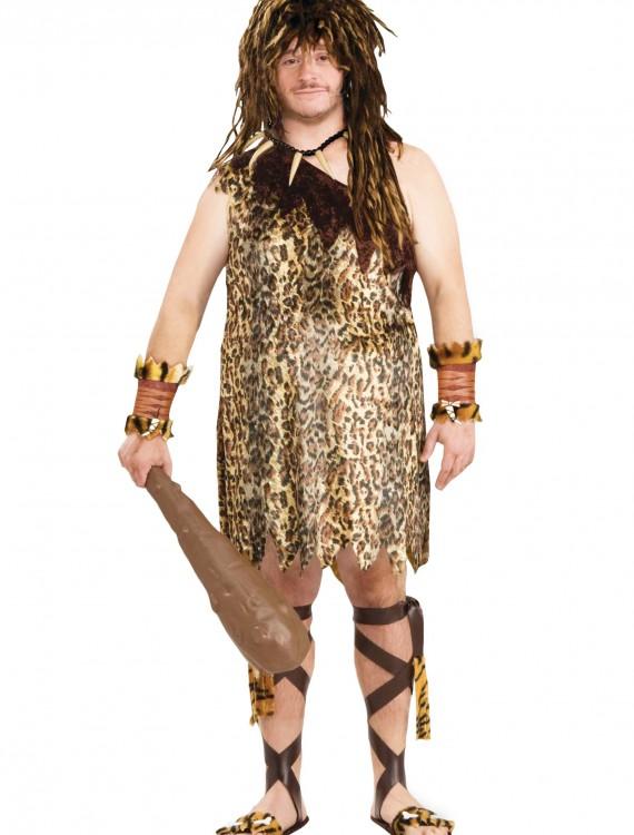 Plus Size Caveman Costume, halloween costume (Plus Size Caveman Costume)