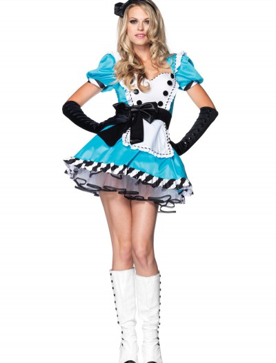 Plus Size Charming Alice Costume, halloween costume (Plus Size Charming Alice Costume)