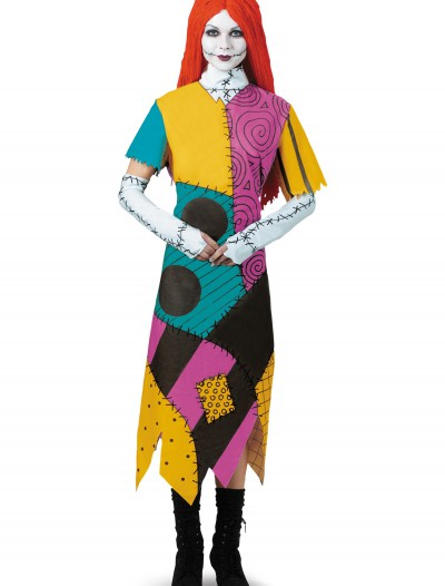 Plus Size Classic Sally Costume, halloween costume (Plus Size Classic Sally Costume)