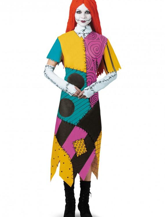 Plus Size Classic Sally Costume, halloween costume (Plus Size Classic Sally Costume)