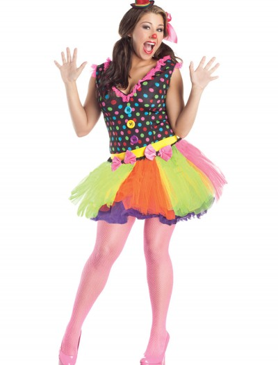 Plus Size Clownin Around Costume, halloween costume (Plus Size Clownin Around Costume)