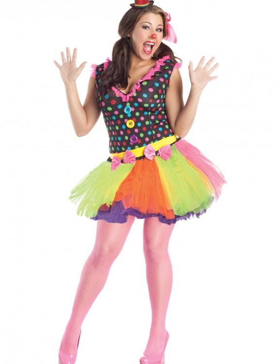 Plus Size Clownin Around Costume, halloween costume (Plus Size Clownin Around Costume)