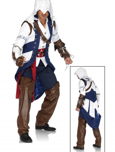 Plus Size Assassin's Creed Connor Costume, halloween costume (Plus Size Assassin's Creed Connor Costume)