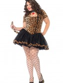 Plus Size Cougar Costume, halloween costume (Plus Size Cougar Costume)