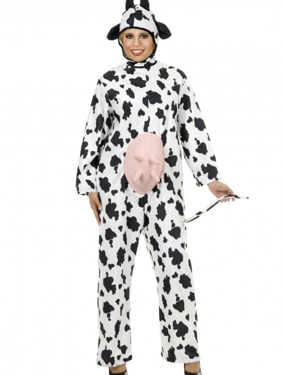 Plus Size Cow Costume, halloween costume (Plus Size Cow Costume)