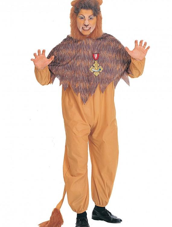 Plus Size Cowardly Lion Costume, halloween costume (Plus Size Cowardly Lion Costume)