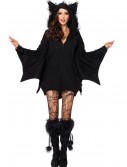 Plus Size Cozy Bat Adult Costume, halloween costume (Plus Size Cozy Bat Adult Costume)