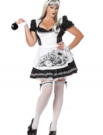 Plus Size Dark Alice Costume, halloween costume (Plus Size Dark Alice Costume)