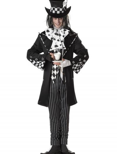 Plus Size Dark Mad Hatter Costume, halloween costume (Plus Size Dark Mad Hatter Costume)
