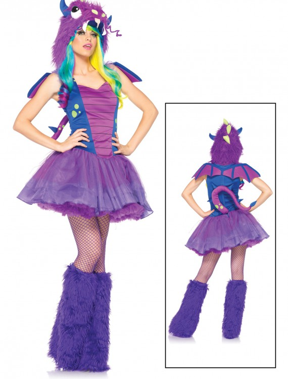 Plus Size Darling Dragon Costume, halloween costume (Plus Size Darling Dragon Costume)