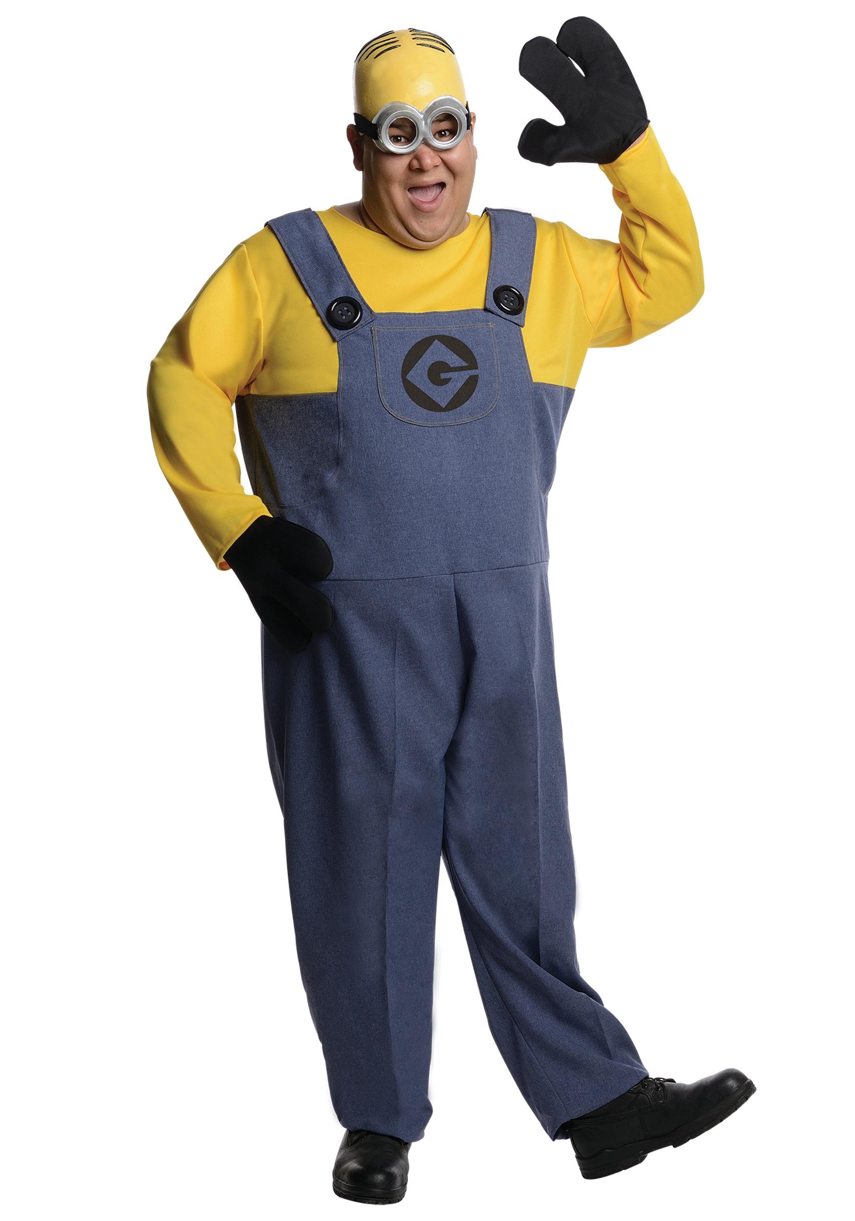 Plus Size Dave Minion - Halloween Costumes