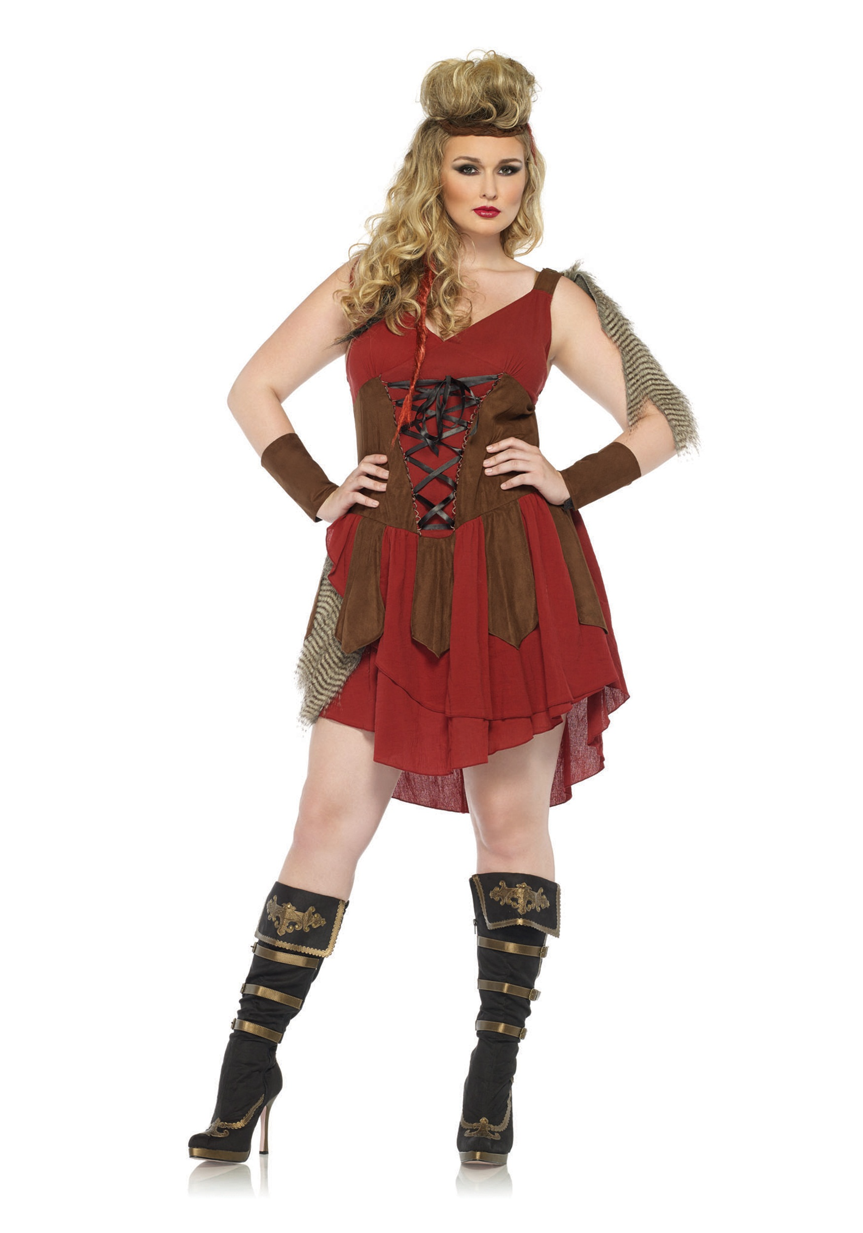 plus size deadly huntress costume - halloween costumes