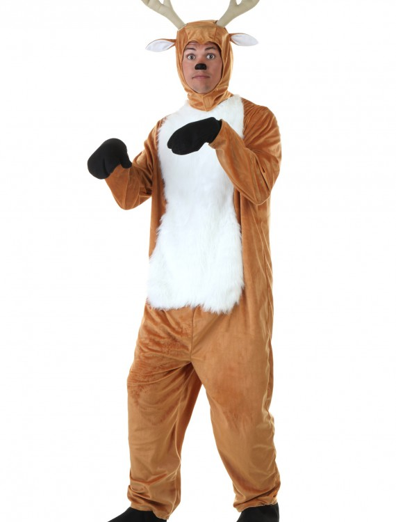 Plus Size Deer Costume, halloween costume (Plus Size Deer Costume)