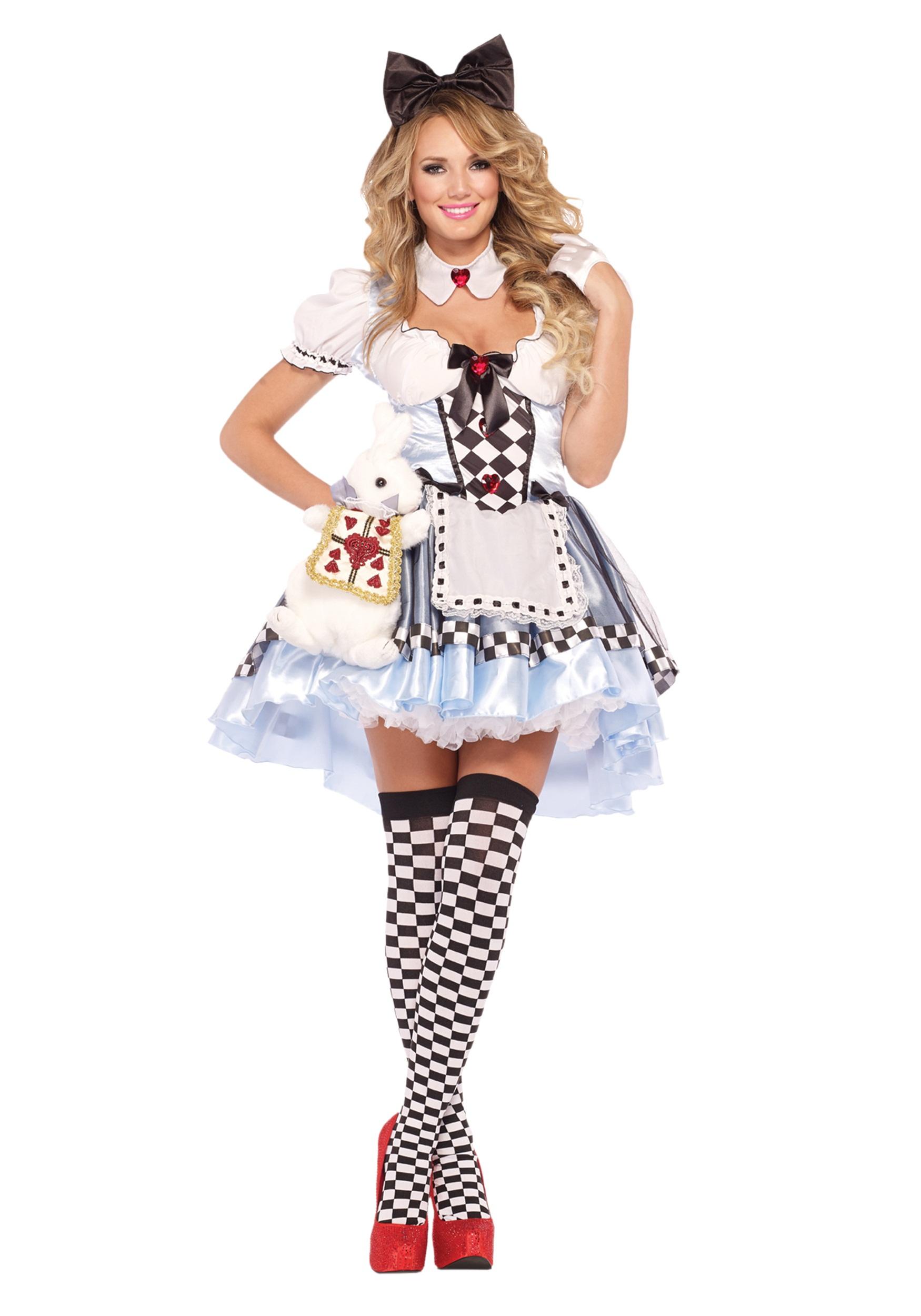 plus size delightful alice costume