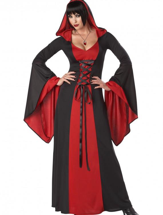 Plus Size Deluxe Hooded Robe, halloween costume (Plus Size Deluxe Hooded Robe)